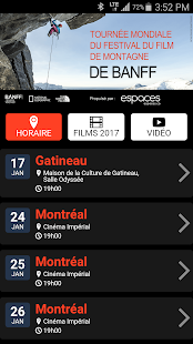 Festival Banff Québec- screenshot thumbnail