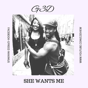 Cover Art for song she wants me