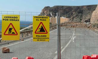 En imágenes: así está la carretera de El Cañarete