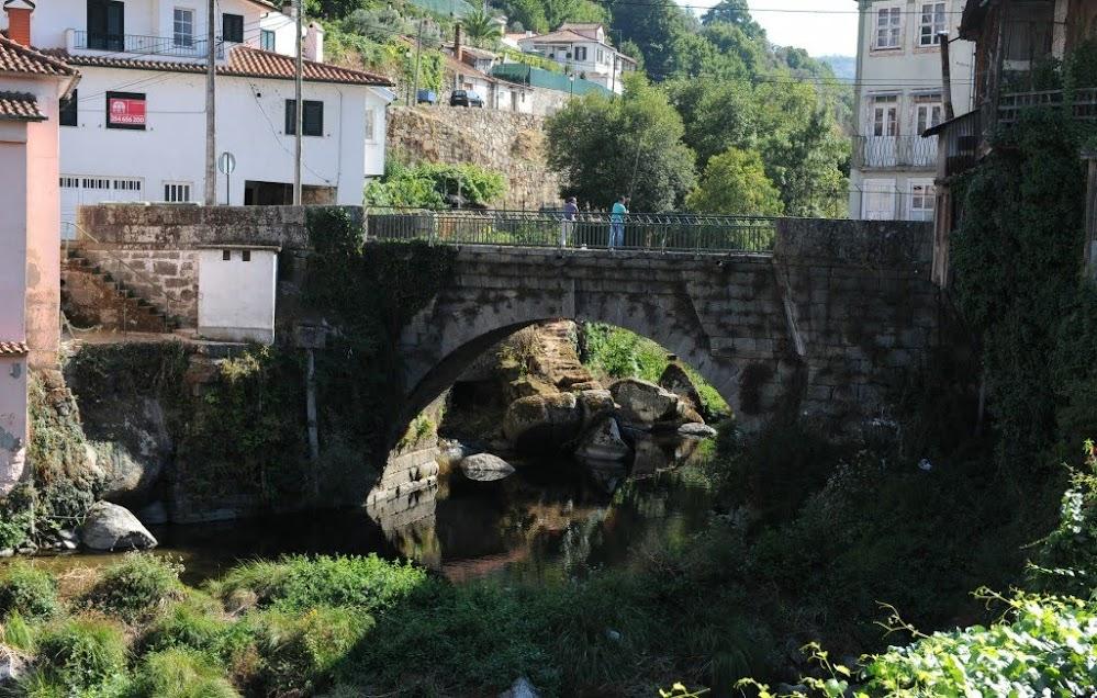 Descargas poluentes no rio Balsemão