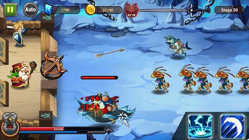 Castle Defender: Hero Shooter - Idle Defense TD apktram screenshots 4