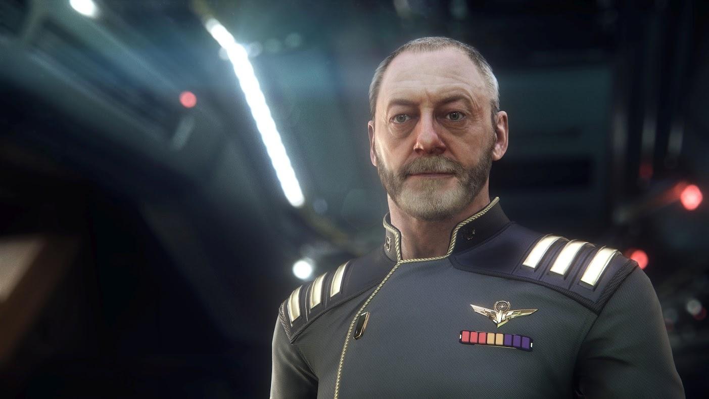 Star Citizen - Tryb Squadron 42 - Liam Cunningham jako postać z gry