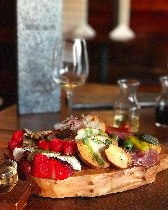 The charcuterie board at Palate. Photo: Hungry on Kauai.