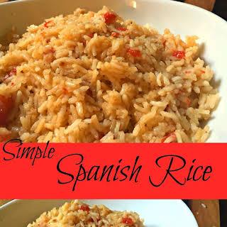 Simple Spanish Rice.