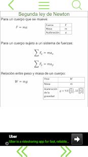 Formulario de Física HD - náhled