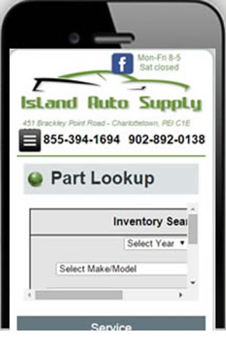 Island Auto Supply- screenshot