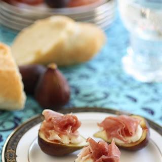 Prosciutto with Figs and Mascarpone Recipe