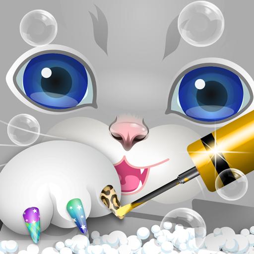 Pets Nail Salon - kids games (game)