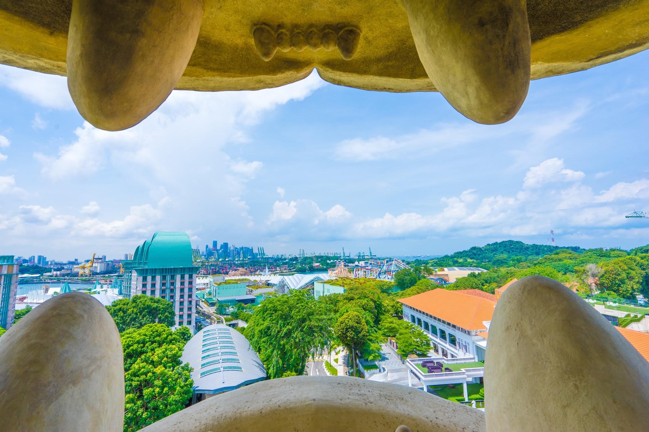 シンガポール セントーサ・マーライオン 展望台