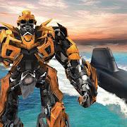 Russian Submarine Robot Transformation: Robot Wars