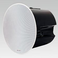 Photo: Krix Atmospherix AS in-ceiling speaker.