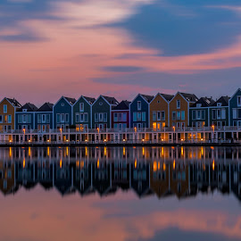 Sunset by Samrat Sam - Buildings & Architecture Homes ( houden, sunset, netherlands )