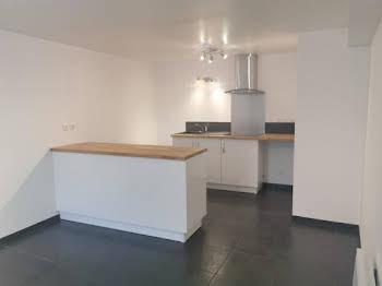 Appartement meublé 2 pièces 49,89 m2