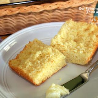 Our Favorite Cornbread [Thick & Moist]