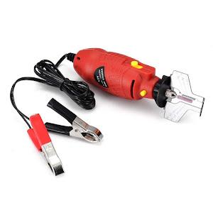 Aparat electric 12V, portabil - ascutitor pentru lant drujba