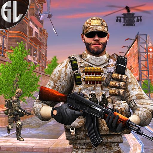 Gun Strike Fight War 3D
