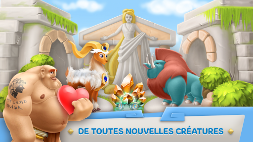 Legends Of Olympus: Jeu de Ville & Agriculture  captures d'écran 2