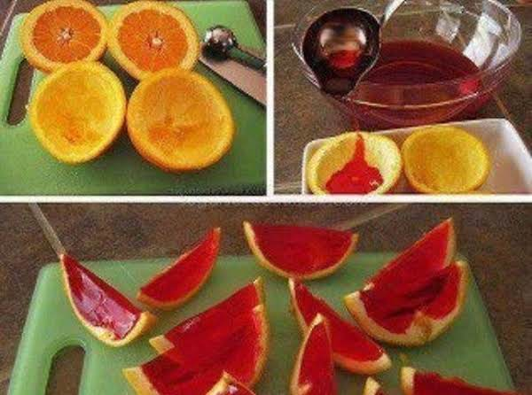 Jello Oranges Recipe