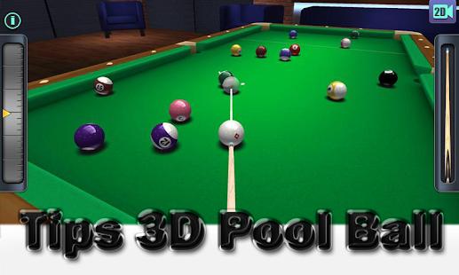 ... Tips 3D Pool Ball- screenshot thumbnail ...