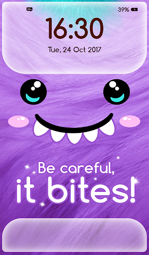 Girly Lock Screen Wallpaper with Quotes 2.3 screenshots 7