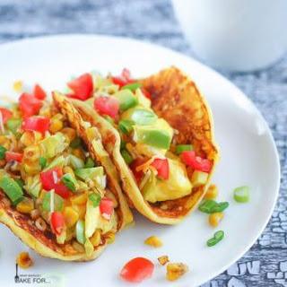 Corn Pancake Breakfast Tacos Recipe