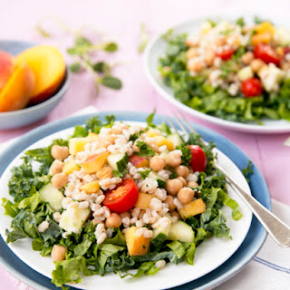 Peach Barley Salad