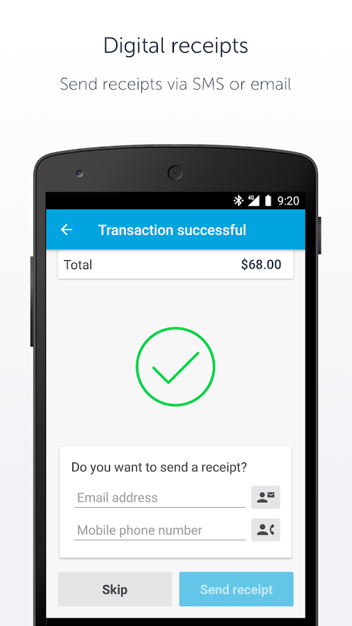 SumUp – Accept EMV payments- screenshot