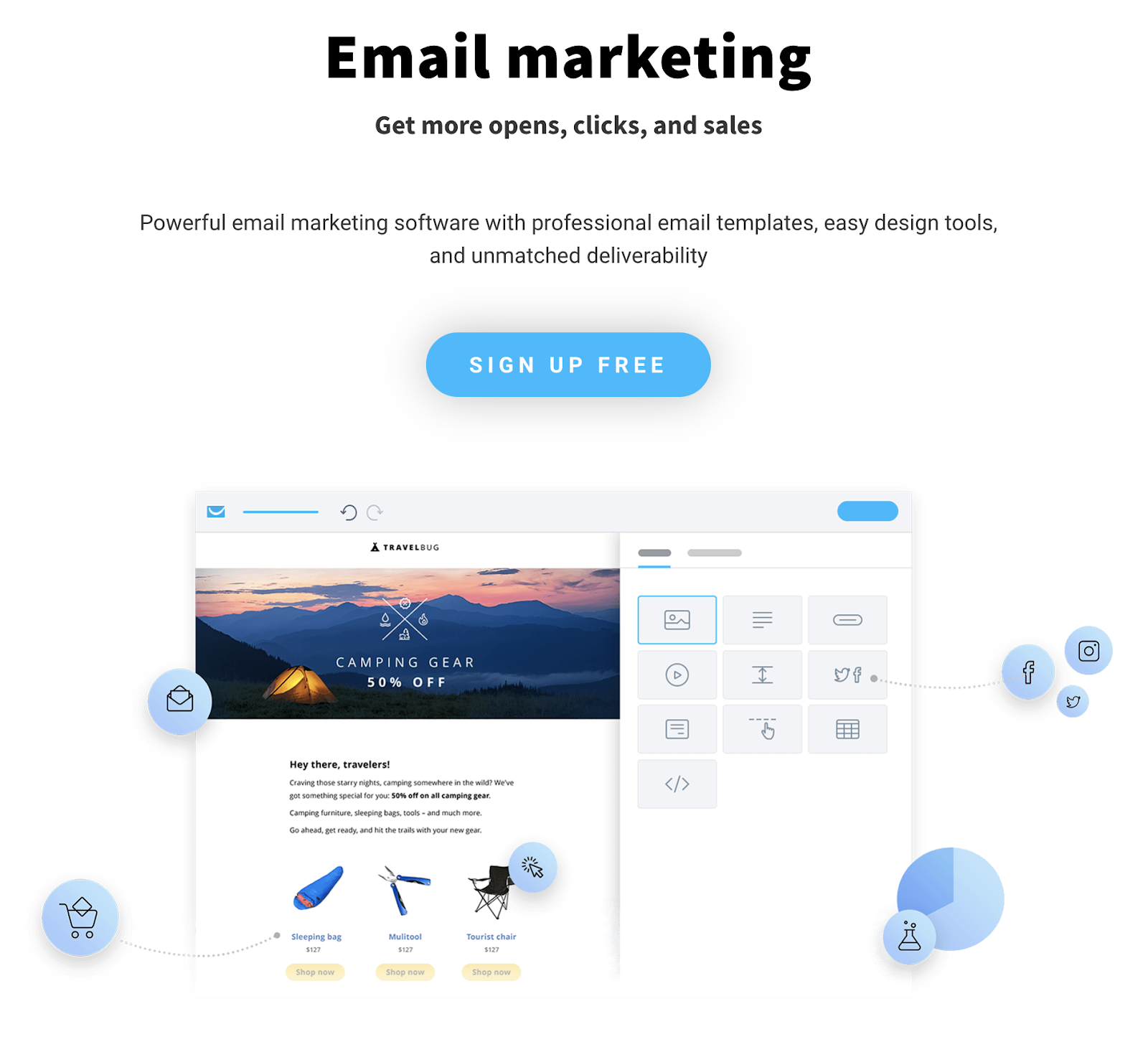 GetResponse is an email service provider.