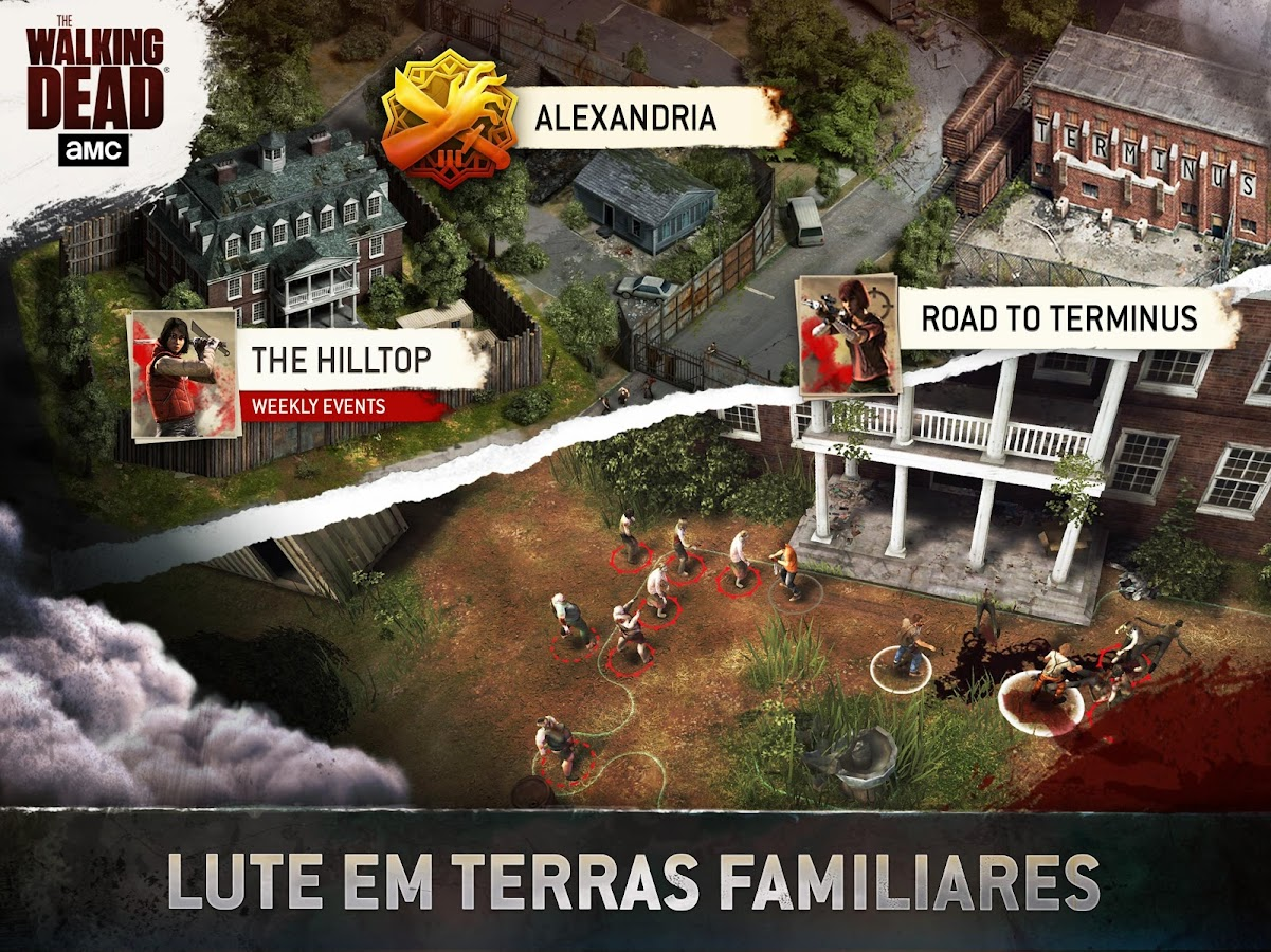 The Walking Dead No Man's Land: captura de tela