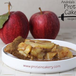 Caramel Apple Protein Pie