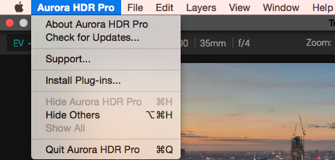 Aurora HDR  de tutorials frequently asked questions tools and features