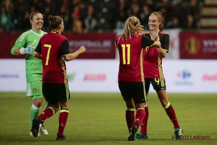 Herbeleef de 12-0 van de Belgian Red Flames tegen Moldavië