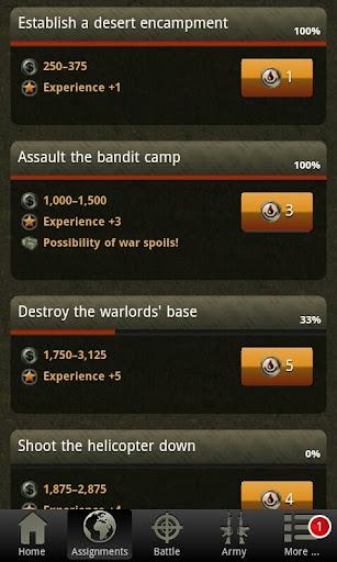 War Game - Combat Strategy Online 4.1.0 screenshots 3