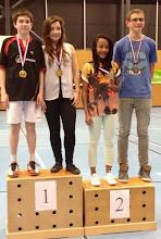 Photo: Alsace 2014 Double Mixte Minimes Médaille d'Or: Pierre Ordureau