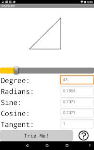 Trig Calculator - náhled