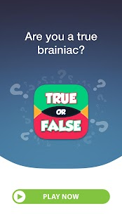 True or False Quiz- screenshot thumbnail