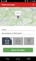 Screenshot of Mobiliar Notruf