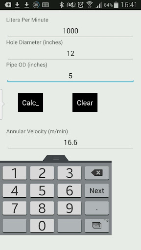 AVmetric -annular velocity