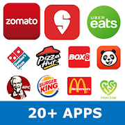 All in one food ordering app - Order food online