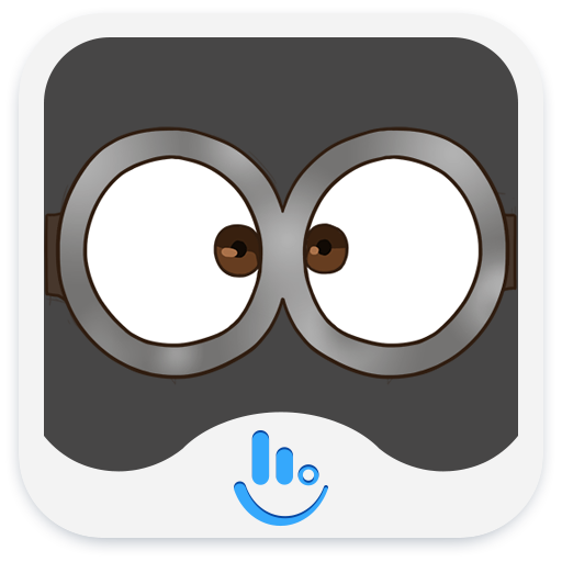 TouchPal Roll Eyes Sticker