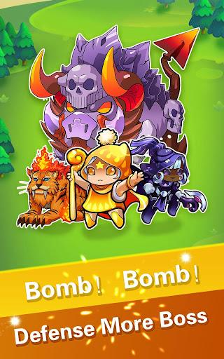Idle Monster Marbles-Bomb! Bomb! screenshot 15