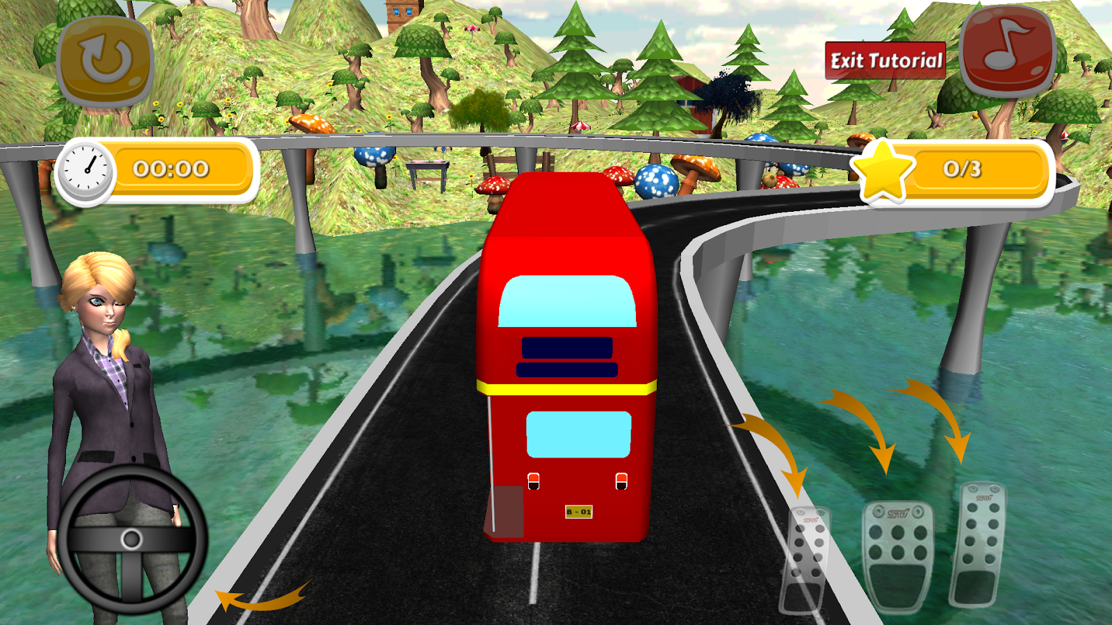 Bus Simulator Racing- screenshot