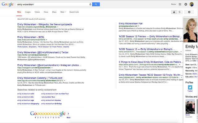 2-Column Google Results