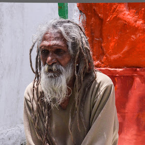 Saint of India by Rushi Chitre - People Portraits of Men