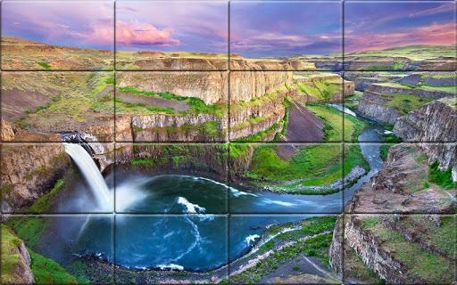 Tile Puzzle Nature apkpoly screenshots 4