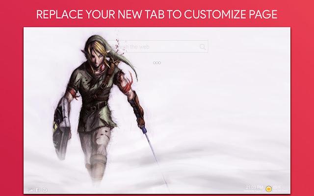 Zelda New Tab