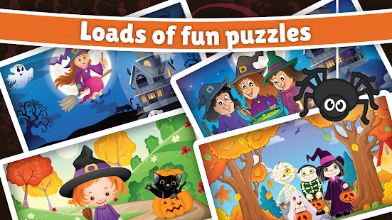 Spooky Halloween Puzzle for kids & toddlers ? - náhled