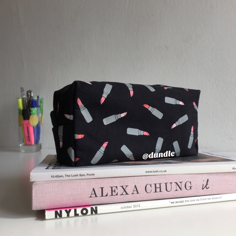 Black Lipstick Pouch by dundle