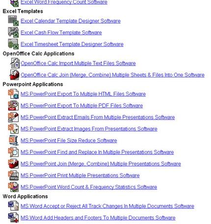 las aplicaciones de word: