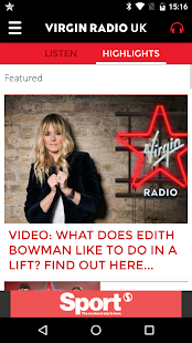 Virgin Radio UK- screenshot thumbnail